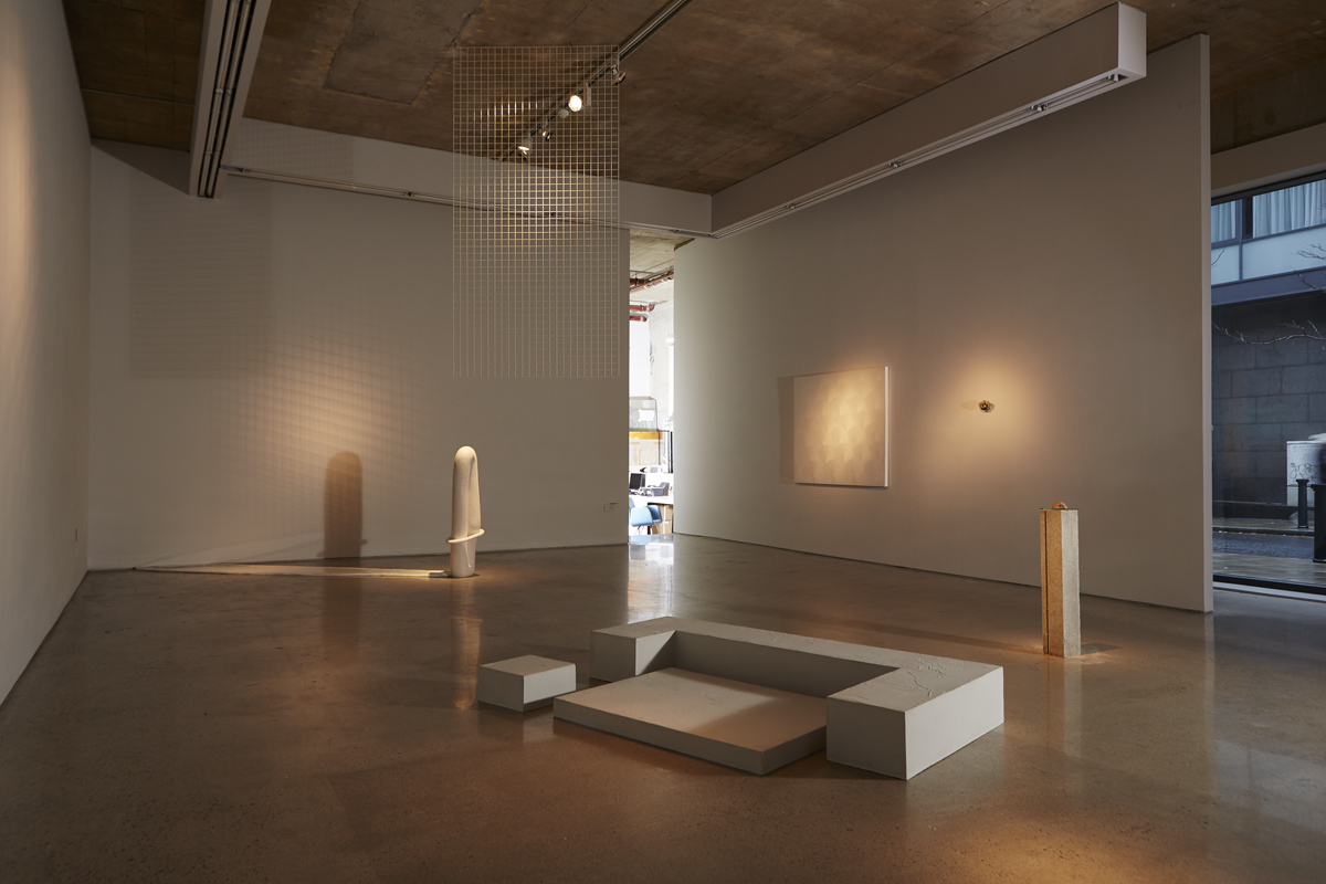 Ali Kirby and Christopher Mahon, 'only connect', installation view. Photograph by Gillian Buckley. Image courtesy of the artists and Kevin Kavanagh Gallery.