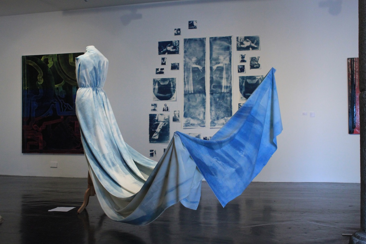 Meghan McLachLan, 'Beyond These Walls', installation view, images courtesy of the writer.