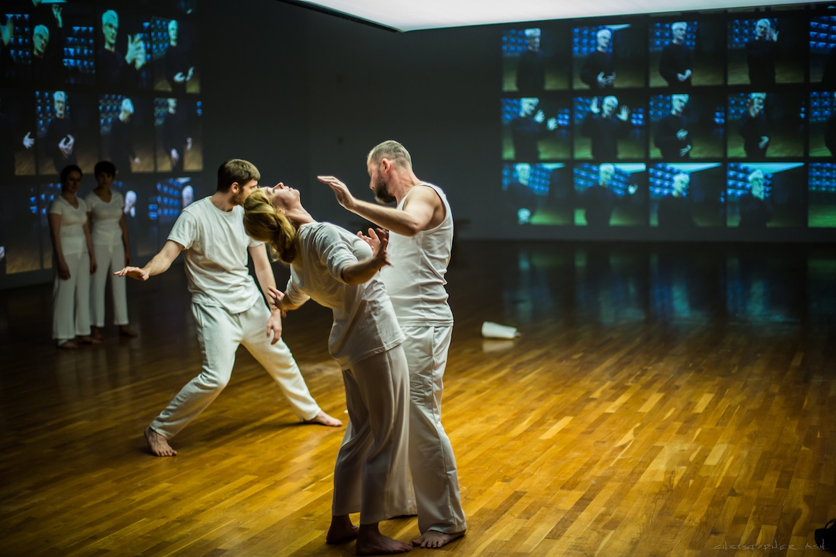 CoisCéim Dance Theatre at RHA Gallery, BODY LANGUAGE by David Bolger. Photo by Christopher Ash.