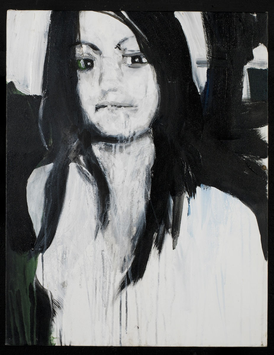 Brian Maguire, Brenda Berenice Castillo Garcia, 2011, acrylic on canvas, 76 x 55cm, Private Collection.