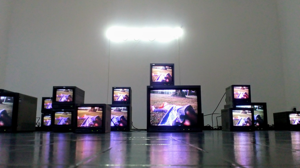 Susan MacWilliam, installation view of Modern Experiments. Photo Lynda Phelan.
