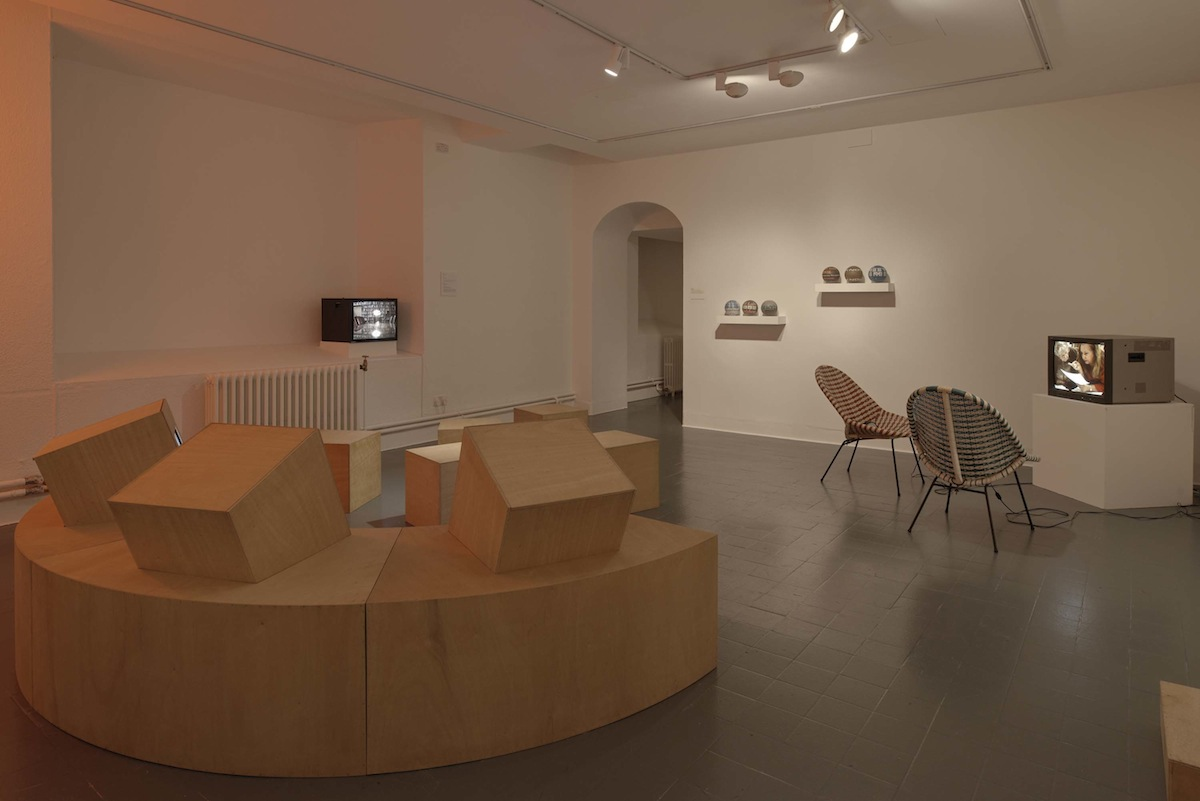 Susan MacWilliam, installation view of Modern Experiments. Photo Ros Kavanagh