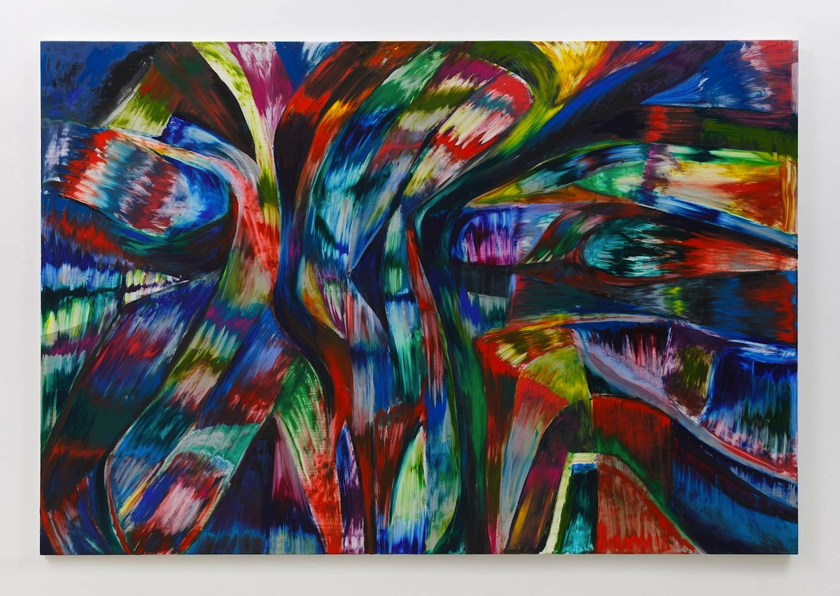 Jan Pleitner, Untitled, 2018, oil on canvas, 170 x 250 cm _ 66.9 x 98.4 in