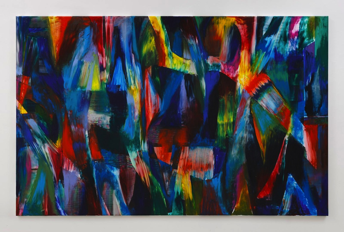 Jan Pleitner, Untitled, 2018, oil on canvas, 180 x 280 cm : 70.9 x 110.2 in