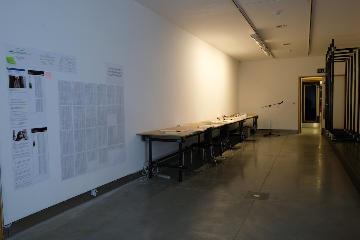 Throughout the duration of the exhibition students from the Institute of Technology, Tallaght will form part of the installation.