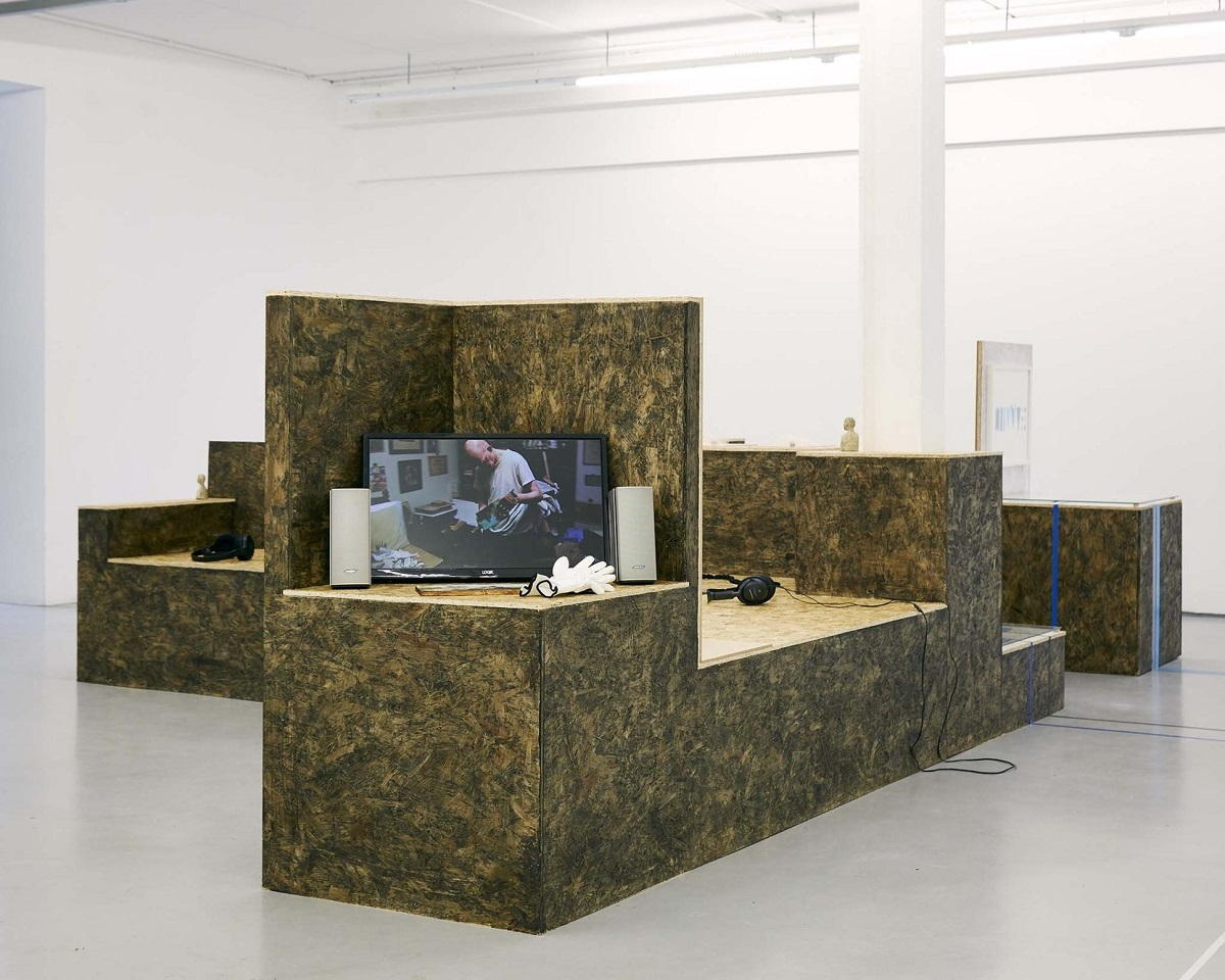James N. Hutchinson Proposal for a Collection, 2011 Video (20 mins), photo courtesy of Simon Mills/CCA