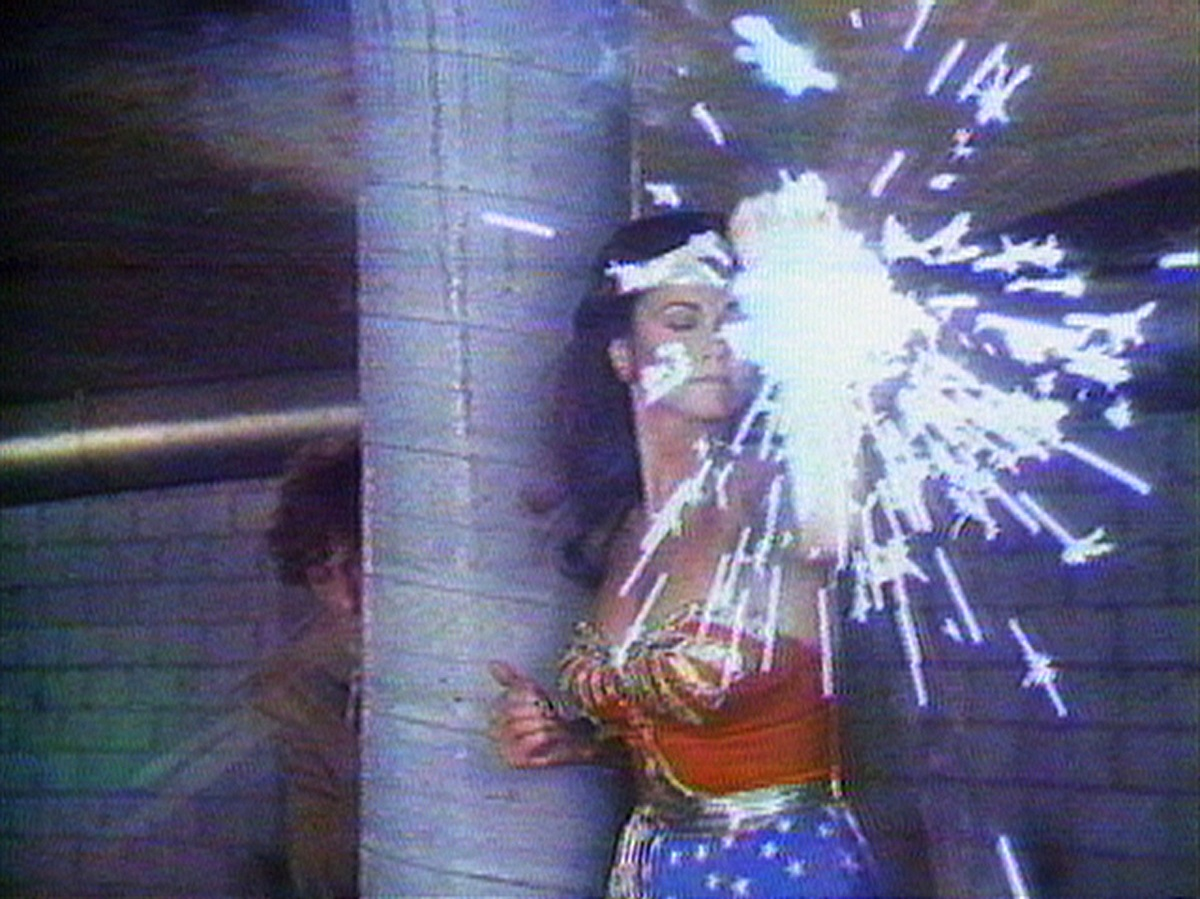 Dara Birnbaum, Technology Transformation Wonder Woman (1978-79), copyright Dara Birnbaum, Courtesy of the artist and Electronic Arts Intermix (EAI) New York.