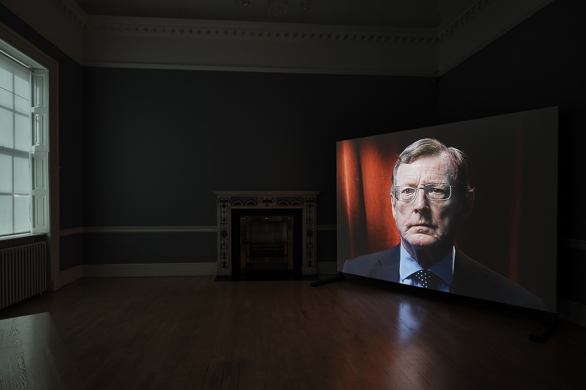 Amanda Dunsmore, David Trimble, 2017; installation view, Dublin City Gallery The Hugh Lane; photograph by Ros Kavanagh.