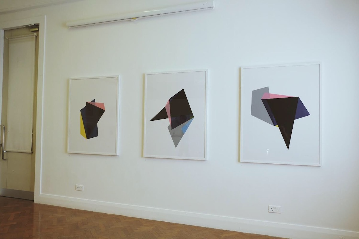 Luke reidy, view of the exhibition, image courtesy of the artist.