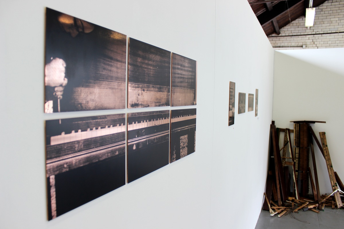 Andrea Calabro, The silence of growing, installation view, image courtesy of the artist.