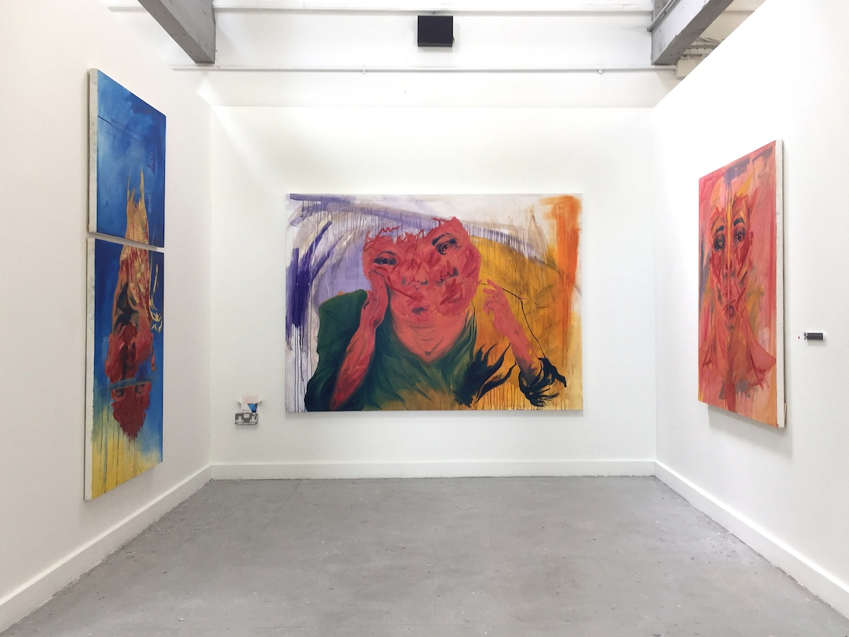 Anna Gormley, Degree Show installation view, image courtesy of the writer.