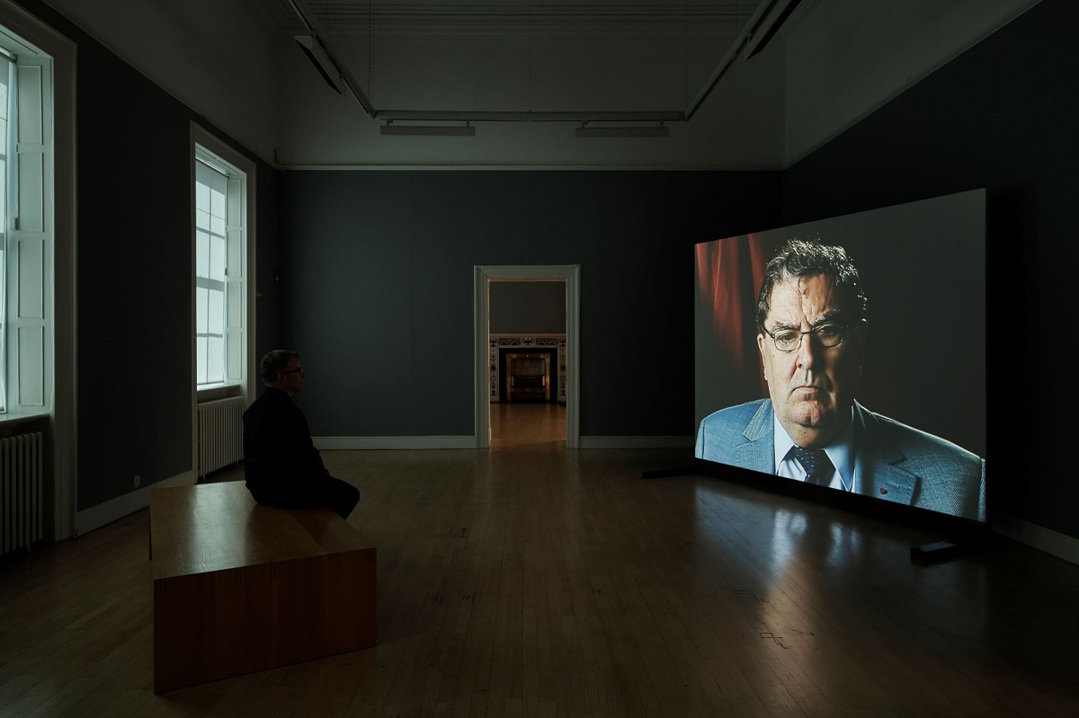 Amanda Dunsmore, John Hume, 2005; installation view, Dublin City Gallery The Hugh Lane; photograph by Ros Kavanagh.