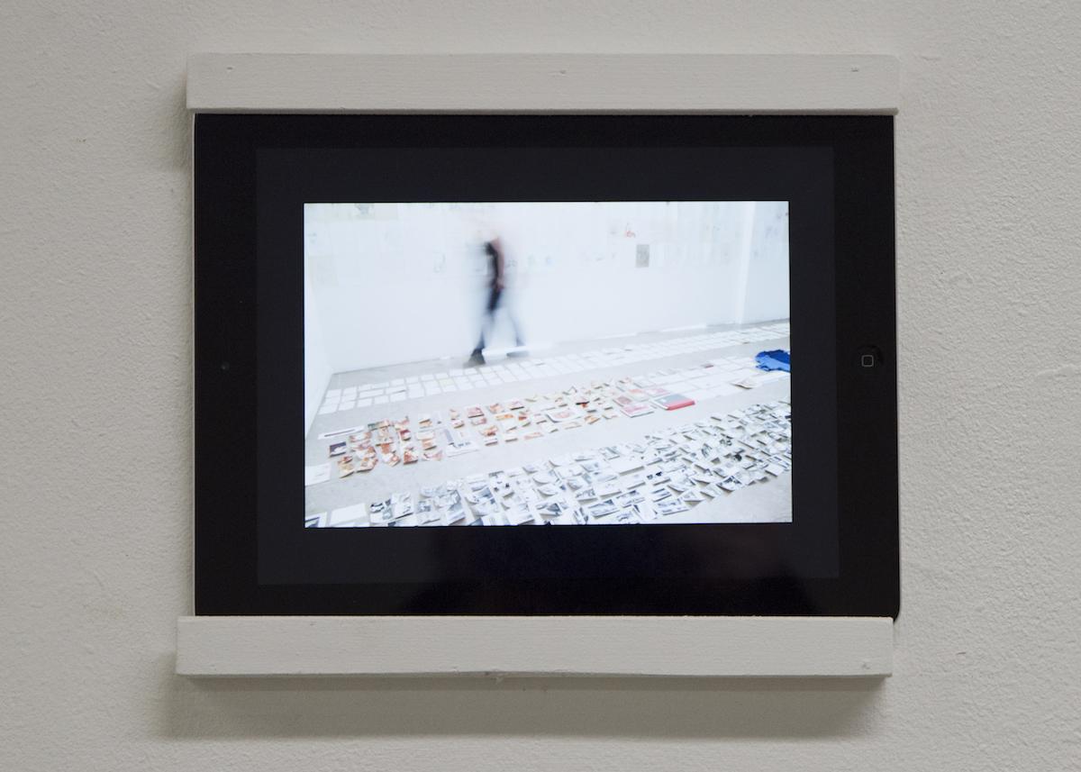Marta Dyczkowska, Degree Show installation view, photography by Jordan Hutchkins.