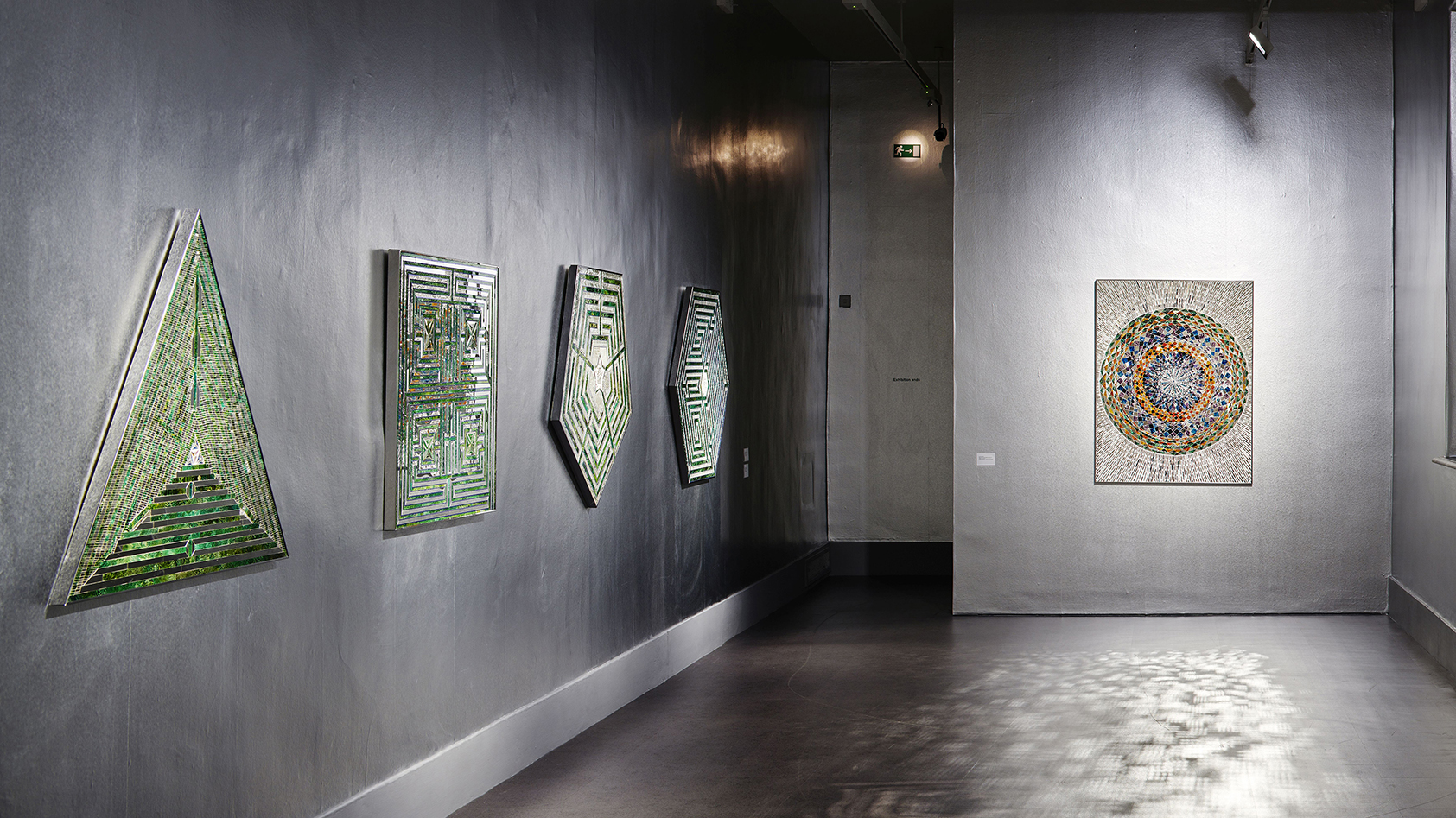 Installation view Sunset, Sunrise by Monir Shahroudy Farmanfarmaian, 10 August – 25 November 2018, IMMA. Photo: Ros Kavanagh.