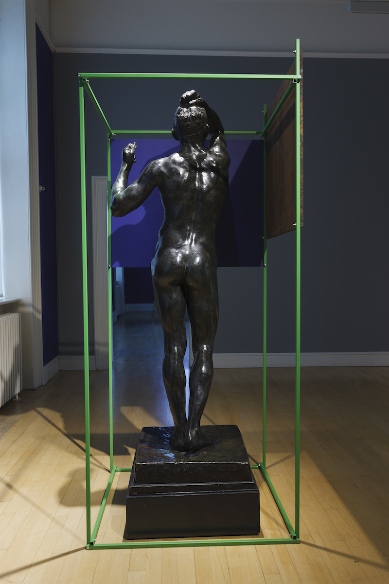 Niamh McCann, Rodin's The Age of Bronze AKA The Awakening, 2018. Photo credit: Lee Welch.