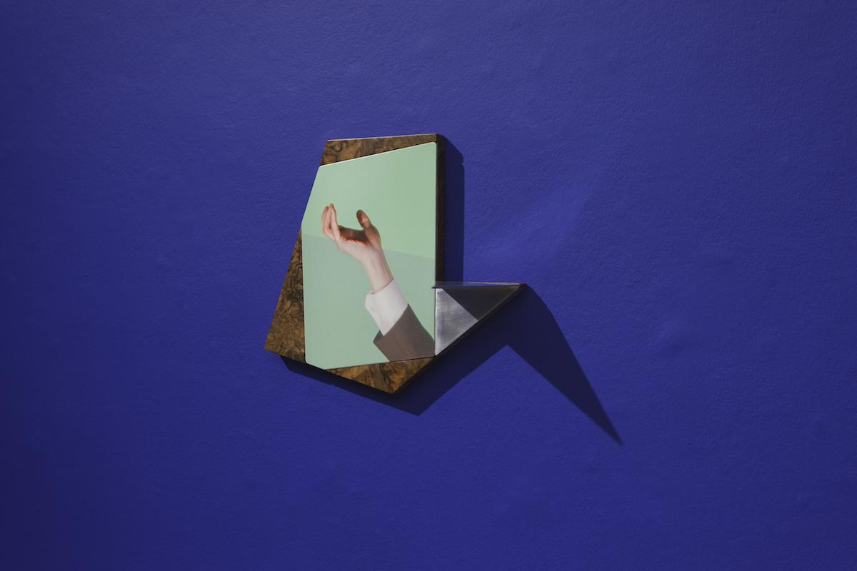 Niamh McCann, Sculpture Picture Furniture gesture # 2, 2018. Photo credit: Lee Welch.