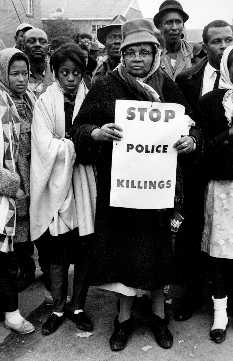 Stop Police Killings Protest in Selma 1965 © Steve Schapiro