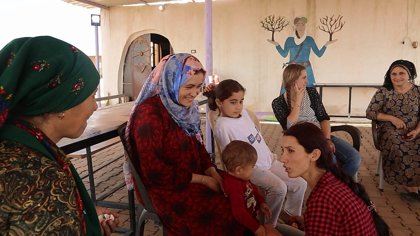 Jinwar – Free Women's Village, Rojava, facebook page.