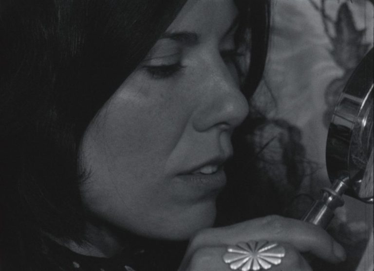 Chick Strand, still from Soft Fiction, 1979, 54 mins, Digital Black and White Courtesy of Chick Strand and LUX, London.