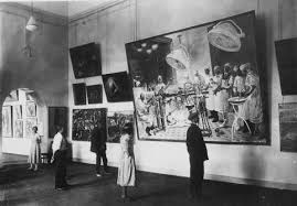 Fig 3: Fifteen Years of Artists of the Soviet Republic exhibition, Leningrad and Moscow, 1932 and 1933.