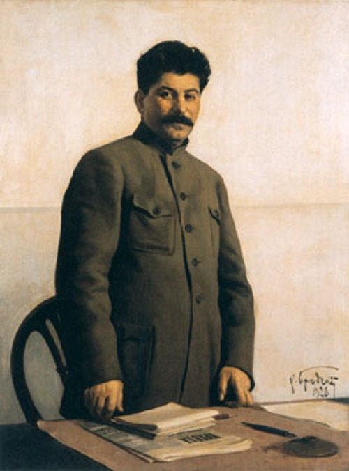 Fig 15: Isaak Brodsky, Portrait of Stalin (1928)