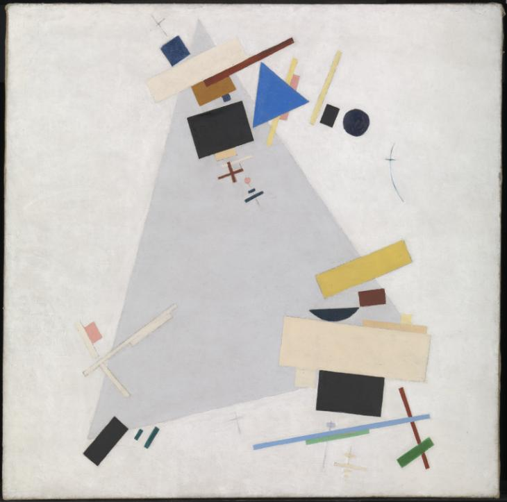 Fig 8: Kazimir Malevich, Dynamic Suprematism (1915 or 1916)