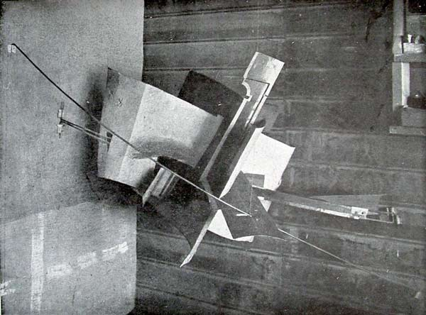 Fig 16: Vladimir Tatlin, Corner Counter-Relief (1914-15) from the 0.10 exhibition of 1915, Unattributed photographer.