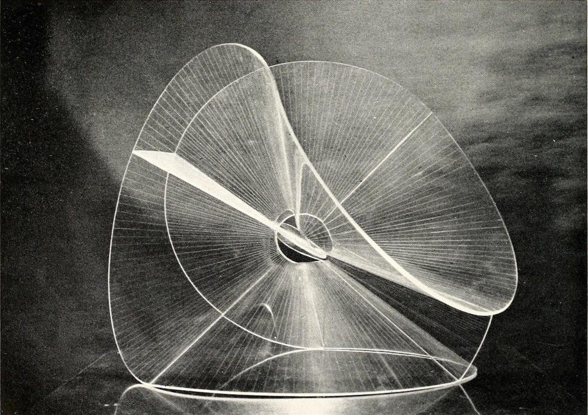 Fig 4. Naum Gabo, Translucent Variation on a Spheric Theme (1937)