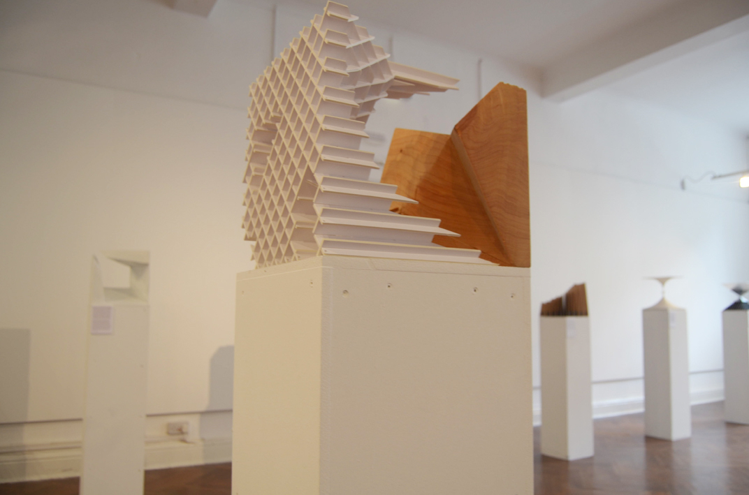 Harmonious Union in Design & Research at Garter Lane Arts Centre, installation view. Photography by the writer.