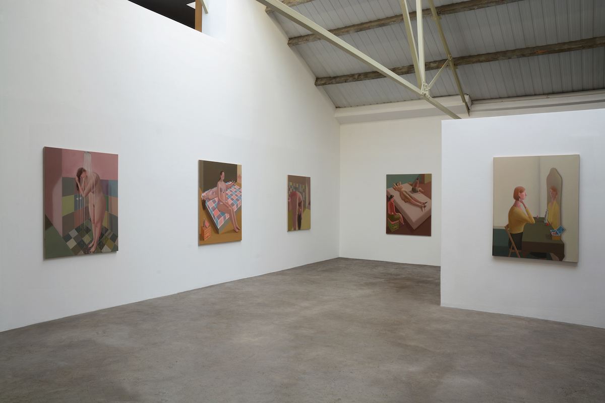 Prudence Flint, The Visit, installation view, photo courtesy of Mother's tankstation