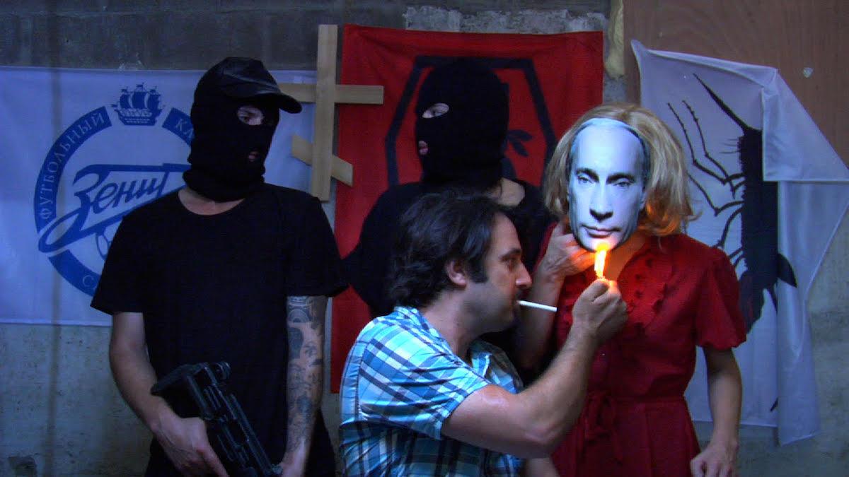 Roee Rosen, 'Historical Joke# 3' / TheBuried AliveGroup, video, 36:30 min, 2013  (still) Courtesy Rosenfeld Gallery, Tel Aviv