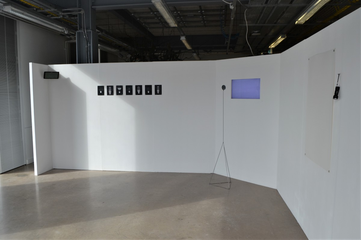 Aimée Nelson, Degree Show installation view, image courtesy of the artist.
