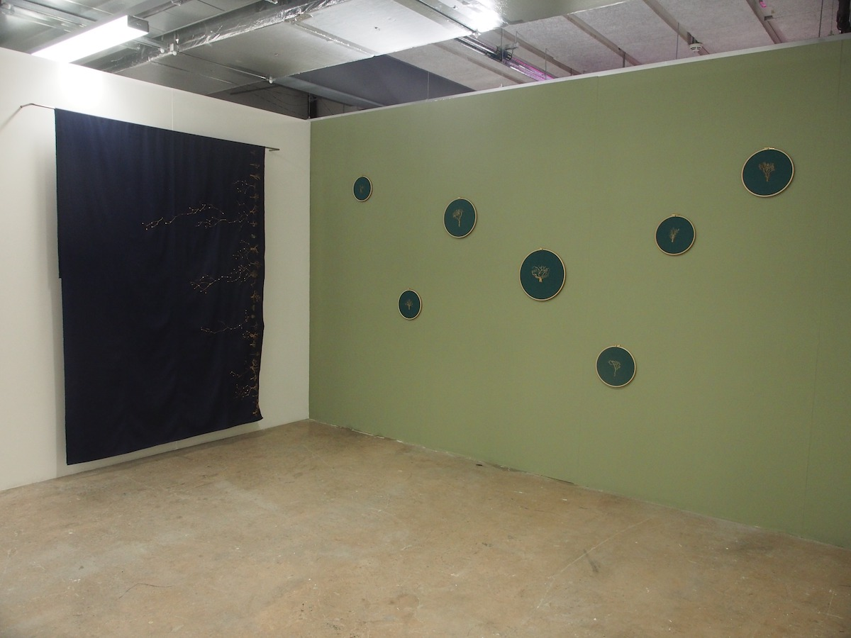 Saskia Lassmann, installation view, image courtesy of the artist.