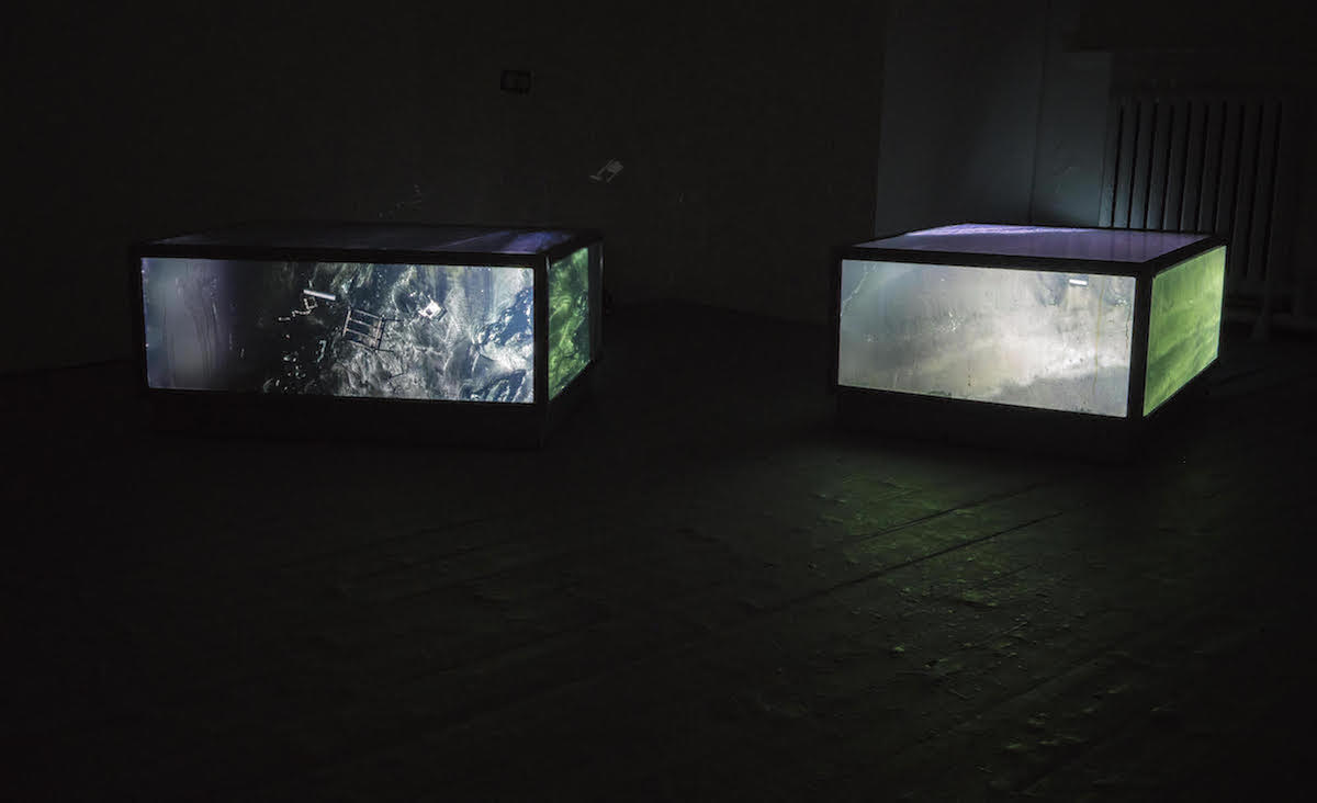 Aoife Claffey, EI 724, installation view, image courtesy of the artist.