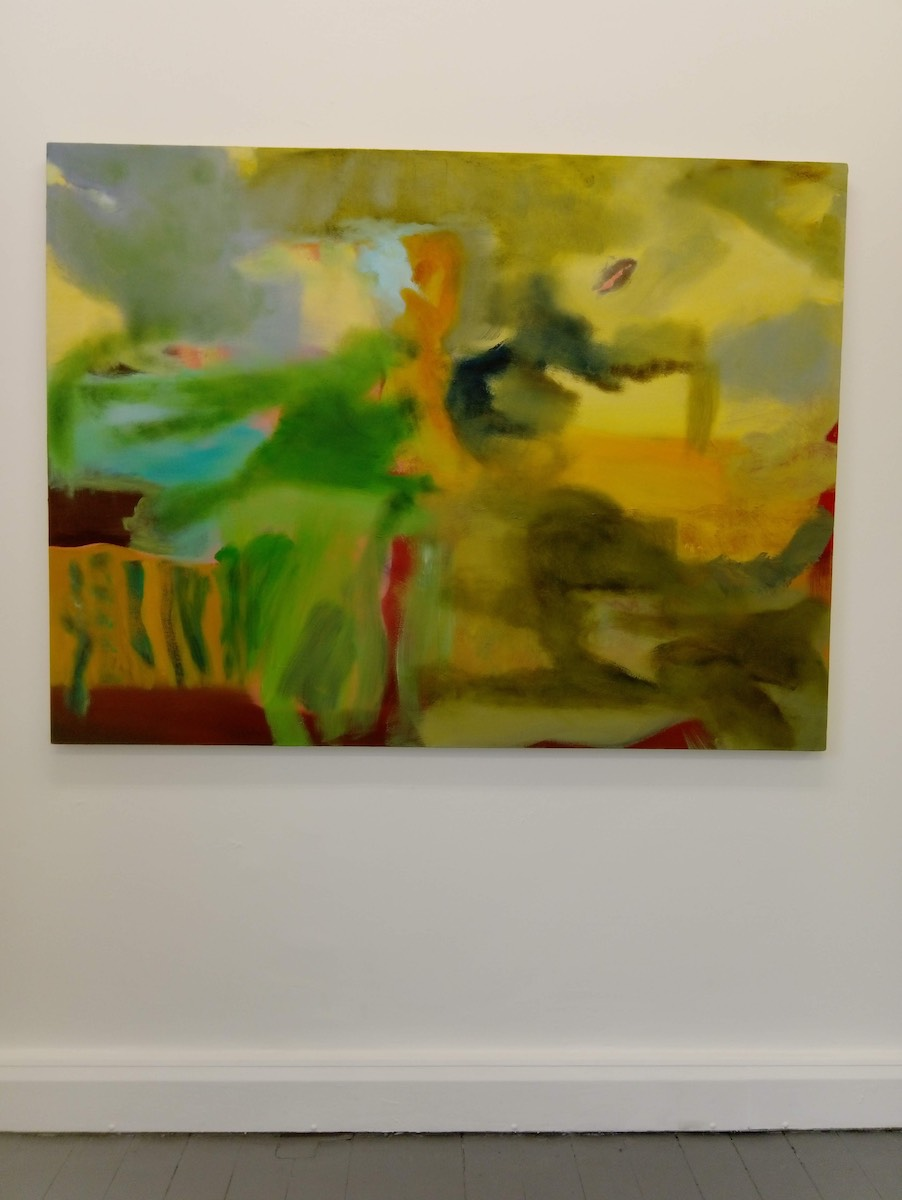 Barbara Lee, 'Untitled for Now', oil on canvas, 120 x 160 cm , image courtesy of the writer.