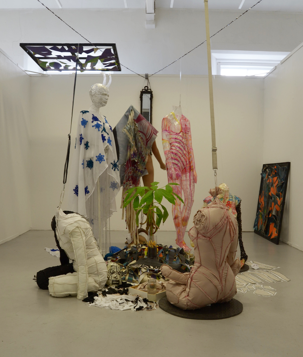 Kat Cordeux, installation view, image courtesy of the writer.
