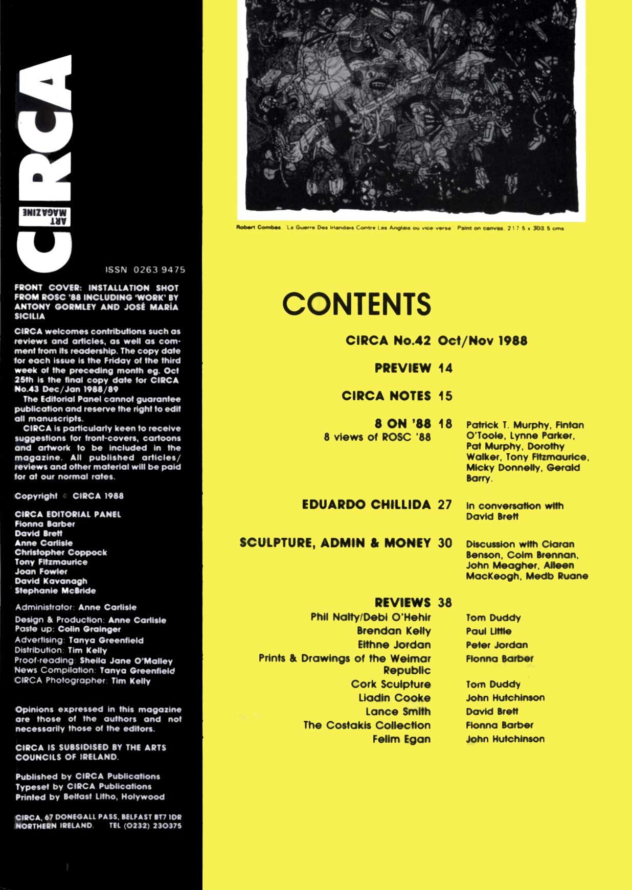 CIRCA Issue #42 – October/November 1988 [Page 3]