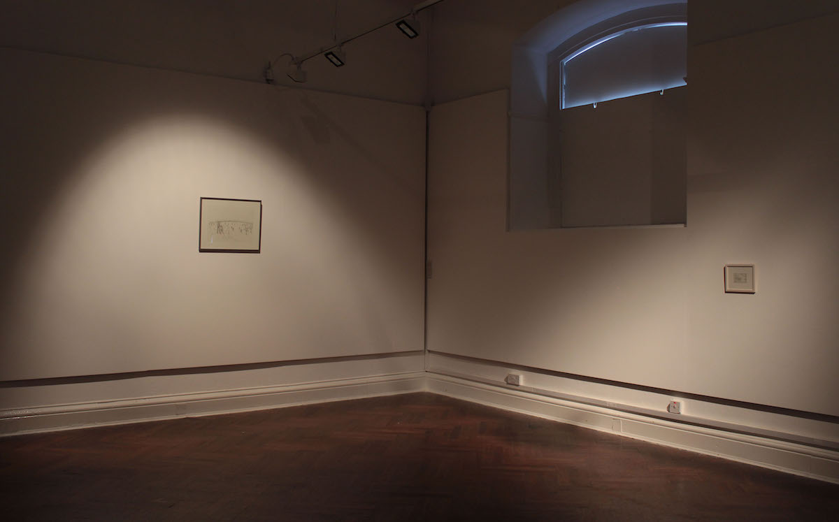 Peter Nash, I Remember Nothing, I Remember This, installation view.  Image courtesy of the artist.