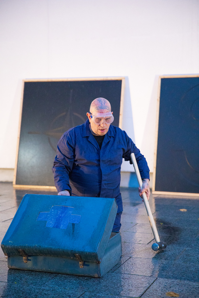Unloved, performance by Franko B (2019) Rua Red Gallery, Photography: Eoin O'Neill
