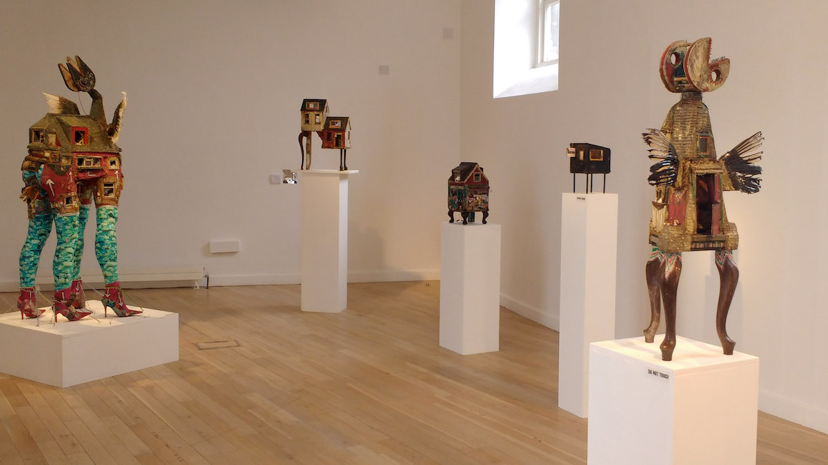 Crowded Thresholds, National Design & Craft Gallery, Kilkenny, installation view. Photo courtesy of the writer.