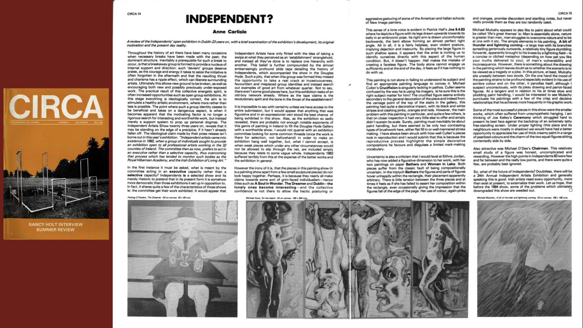 CIRCA Issue #11 – Anne Carlisle / Independent?