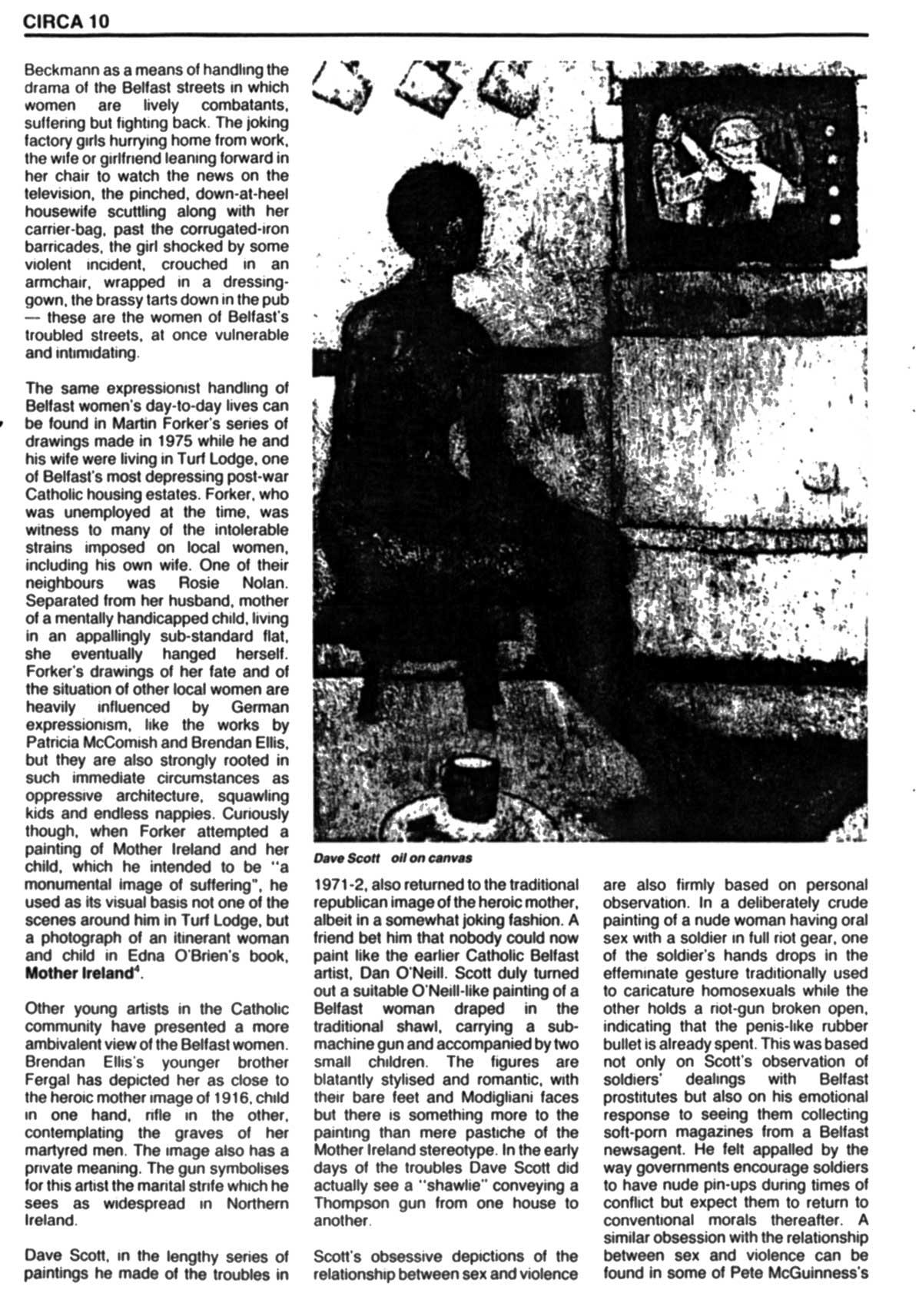 Issue 1: November / December 1981, p. 10