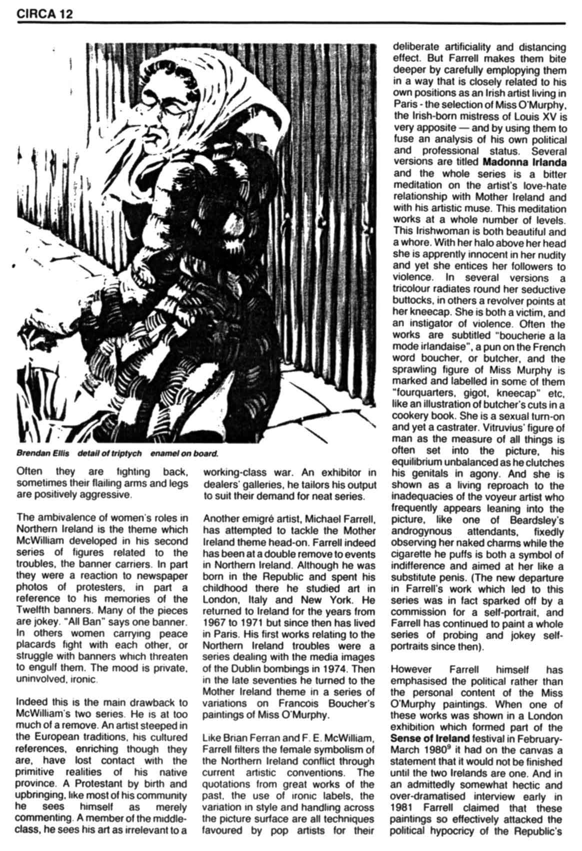 Issue 1: November / December 1981, p. 12