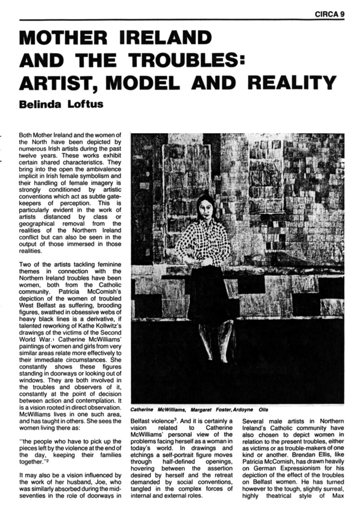 Issue 1: November / December 1981, p. 9