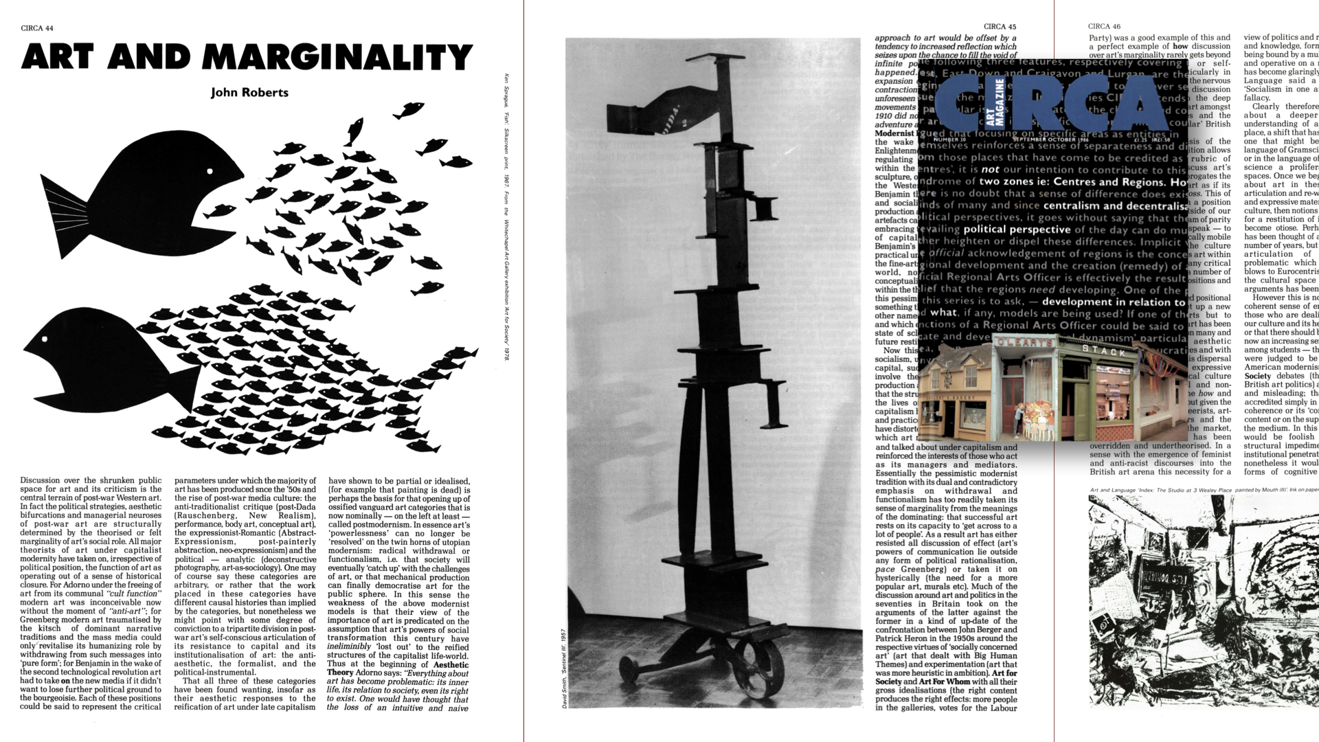 CIRCA Issue #30 – John Roberts / Art and Marginality